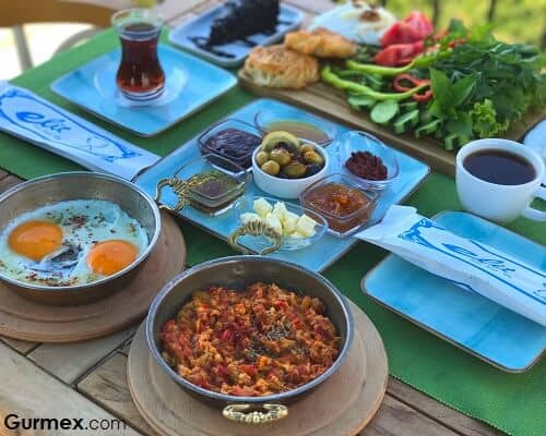 Elit Hotel Kaş en iyi otel kahvaltısı