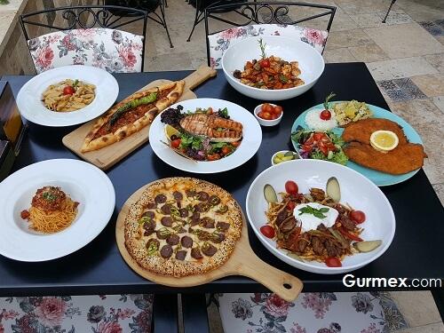 Locca Cafe Gaziantep pizza makarna nerede yenir