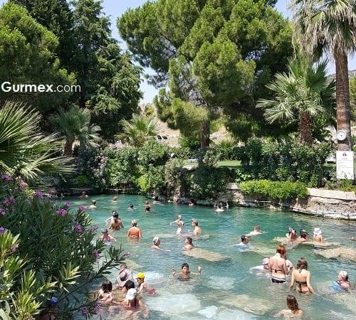 Denizli gezilecek yerler,pamukkale antik havuz kleopatra havuzu giriş ücretleri