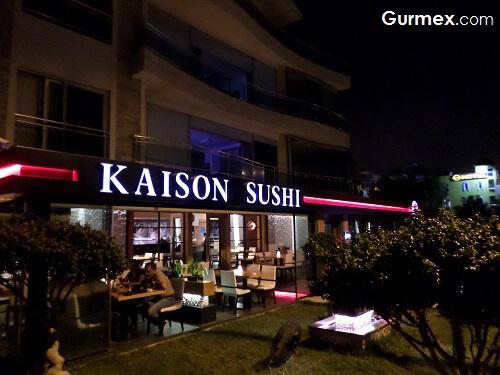 Kaison Sushi Antalya adres telefon iletişim