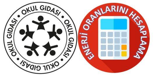 Okul Gıdası Logosu Kantin Ürünleri Enerji Hesaplama