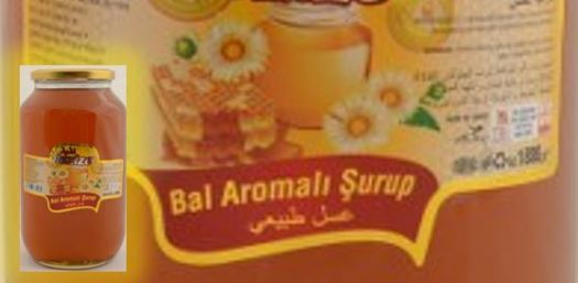 Bal aromalı şurup