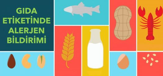 Gıda etiketinde alerjen bildirimi