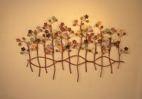 Outdoor Metal Wall Art - Metal Wall Sculpture - Metal ...