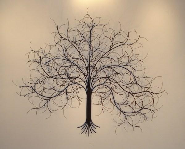 Metal Wall Art And Decor - Trees Gurtan