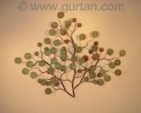 Money Plant - Metal Wall Art - Metal Wall Sculpture - Home ...