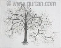 December Tree Gray