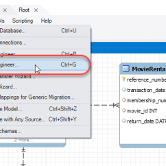 Er Diagram Movie List 2016 Hyundai Sonata Radio Wiring Mysql Create Database Tables Data Types Workbench Forward Engineering