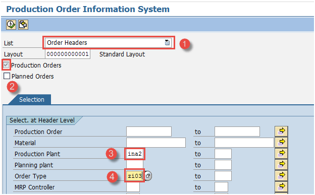 Sap Pp Production Order Change - Resume Examples   Resume