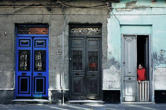 Doors in the Old City of Monteivdoe by Gonzalo Viera Azpiroz