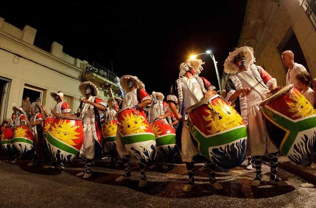 I love Montevideo - candombe troupe - by Jimmy Baikovicius