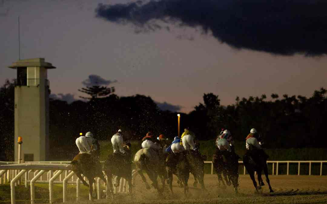 Horse racing in Uruguay by Jimmy Baikovicius