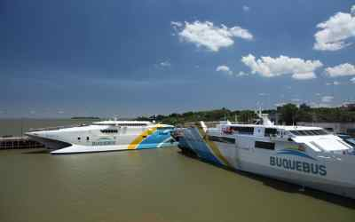 How much does the Montevideo-Buenos Aires ferry cost?