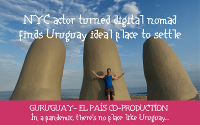 US actor turned digital nomad finds Uruguay ideal place to settle
