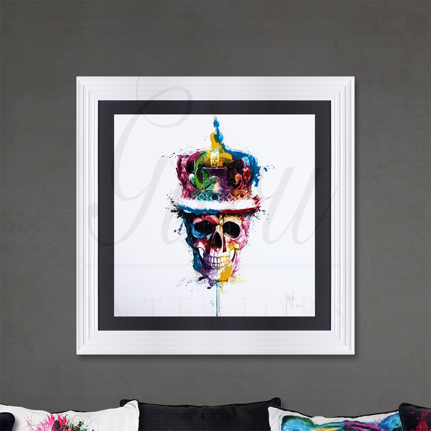 black resin chairs cheap papasan for sale official patrice murciano 'god save the queen' framed picture