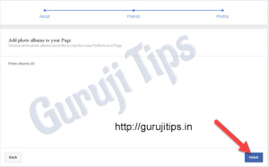 Facebook Profile to page Conert