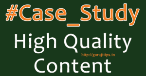 How To Write High Quality Content