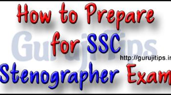 SSC Stenographer ki taiyari kaise kare