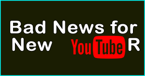 Bad News for Youtuber