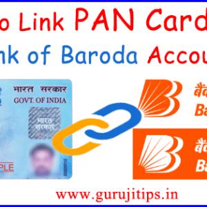 link pan card with BOB
