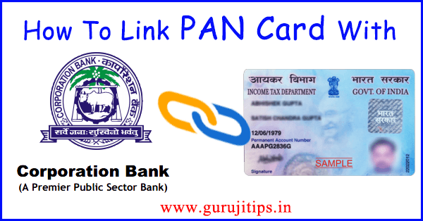 link pan with corporation bank