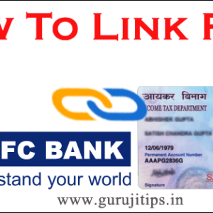 link pan with hdfc bank