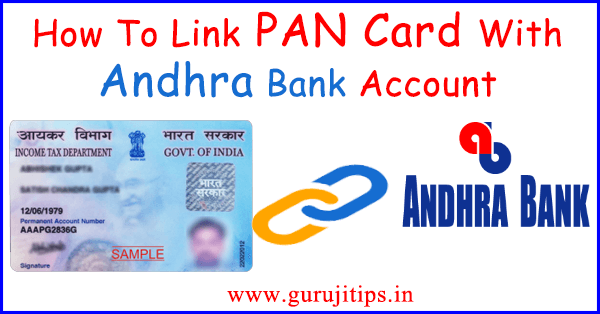 pan link with andhra bank