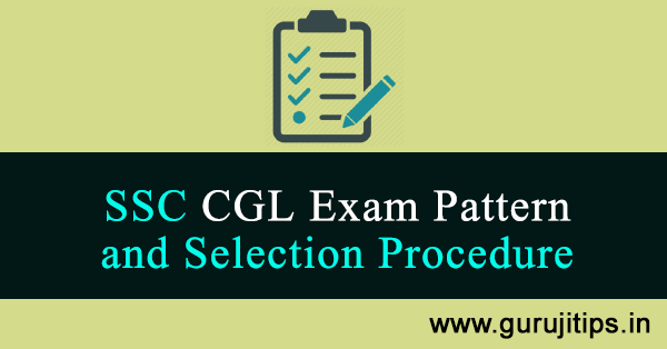 ssc cgl exam pattern