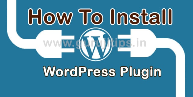 how to install wp plugin