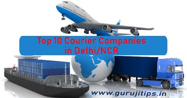 top 10 courier companies in delhi