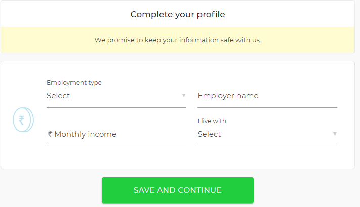 complete zestmoney profile