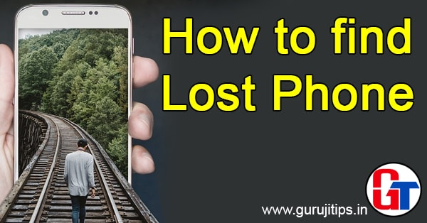 find lost phone by imei