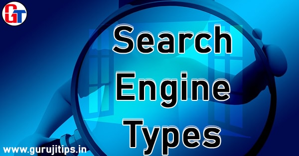 Search engine types
