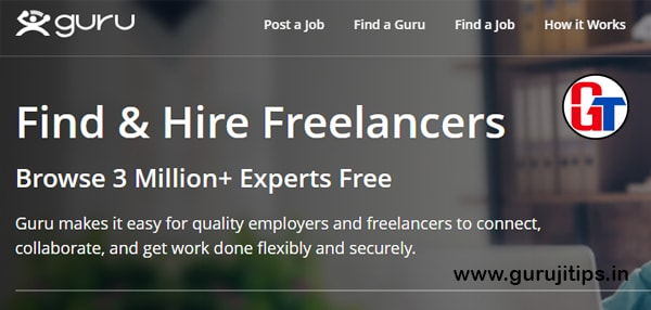 guru freelancing site
