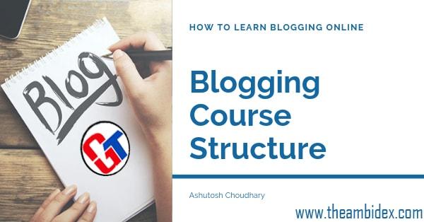 learn blogging online