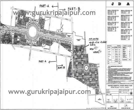 Abhinav Vihar Vistar JDA Scheme Jaipur Plots for Sale Titariya Sanganer