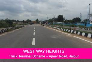 West Way Heights Jda Transport Nagar Yojana Plots for Sale Ajmer Road Jaipur