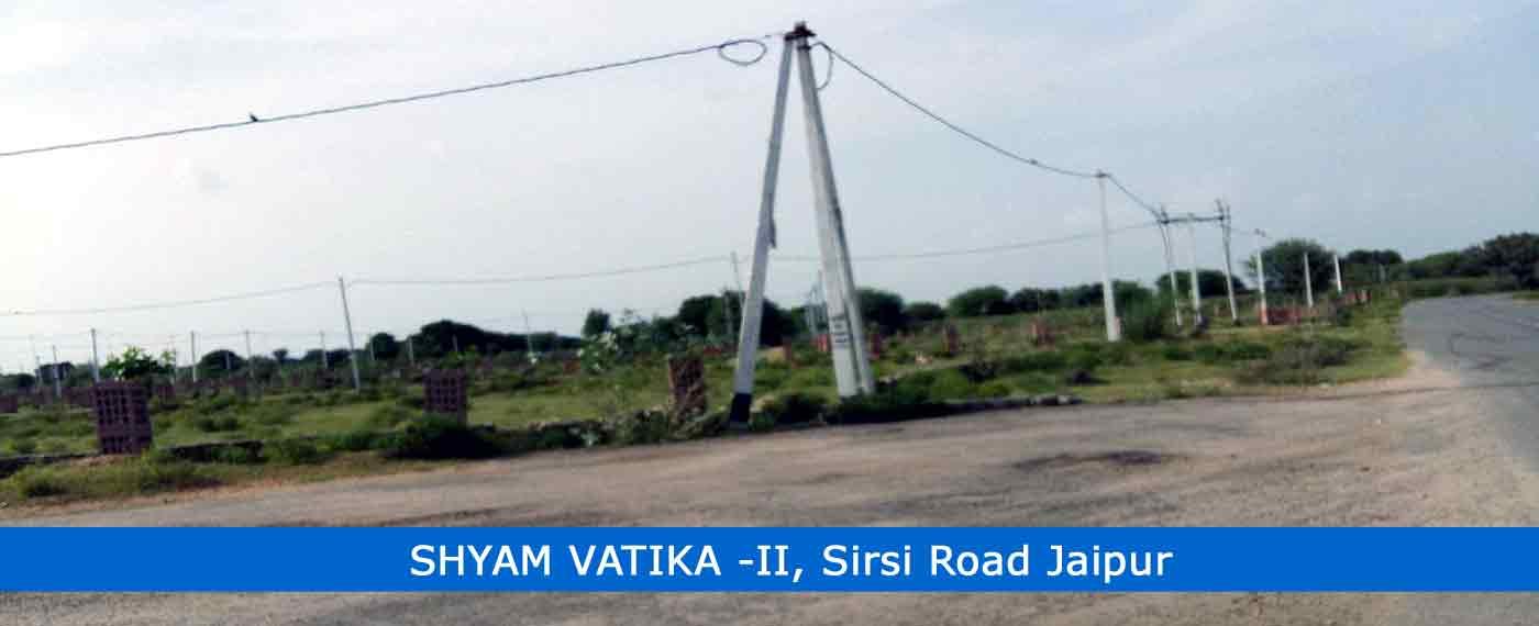Shyam Vatika II Jaipur, Jda Approved Plots