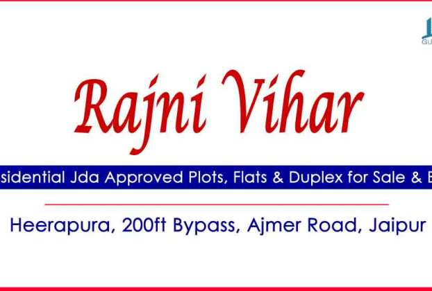 Rajni Vihar Colony Plots & Houses for Sale Heera Pura Ajmer Road Jaipur