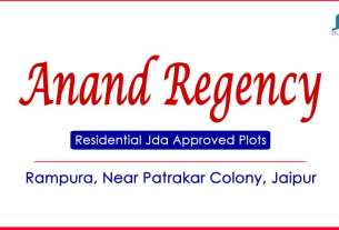 Anand Regency Residential Jda Approved Plots Rampura Road Jaipur