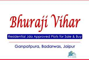 Bhuraji Vihar PRN Jda Approved Plots for Sale Ganpatpura