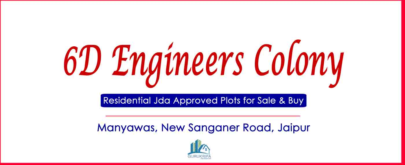 6D Engineers Colony Mansarovar, Engineers Colony New Sanganer Road