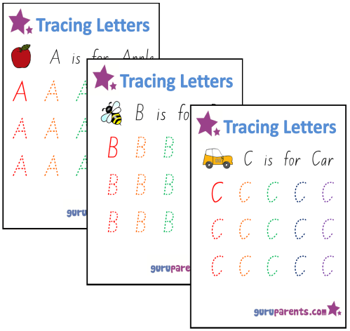 small resolution of Worksheets for Preschool   guruparents