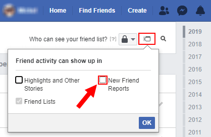 """How Do I hide """"is now friends with"""" update on Facebook?"""