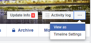 Easy Guide On How To See Your Facebook Page & Profile As Someone Else or Public