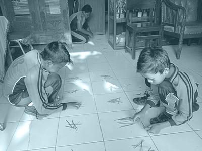gambar anak menghitung