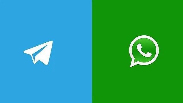 Telegram triunfa, mientras Whatsapp se derrumba…