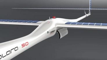 Solara 50, el drone que puede volar 5 años