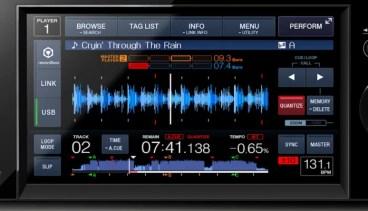 Pioneer XDJ-1000, la evolución, con pantalla táctil y sin lector de CD
