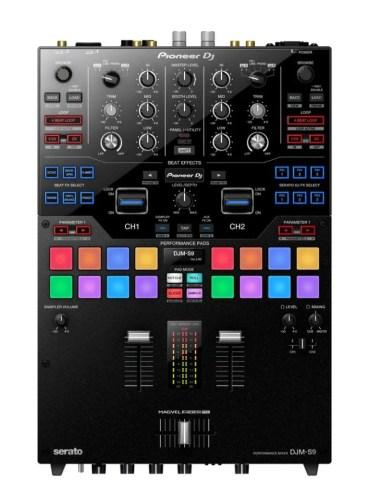 Nuevo mixer para turntablistas, Pioneer DJM-S9